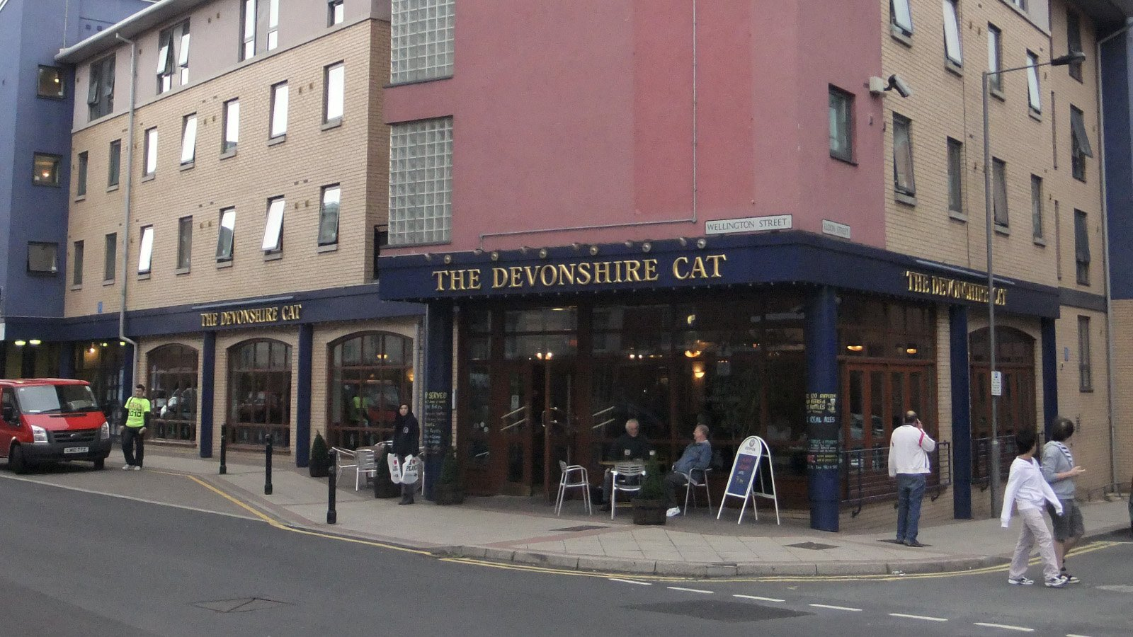 The Devonshire Cat pub, Sheffield
