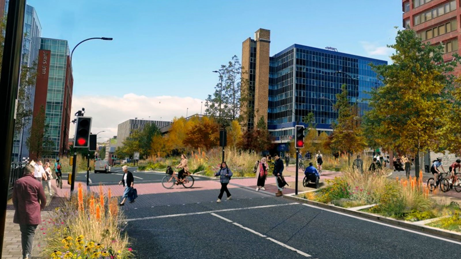 Active Travel proposals for Sheffield City Centre