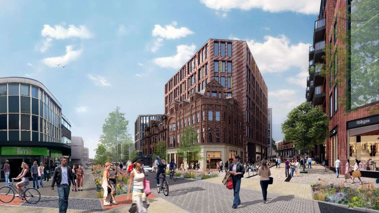 Plans for Sheffield City Centre could see Pinstone Street pedestrianised