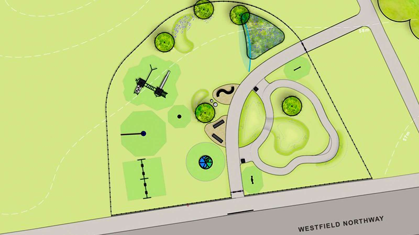 Plans for new Westfield Park